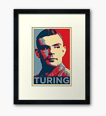 TURING Framed Print