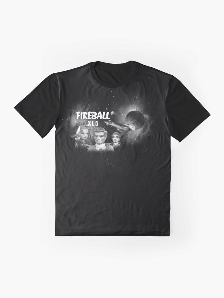 Alternate view of FIREBALL XL5 (1)  Graphic T-Shirt