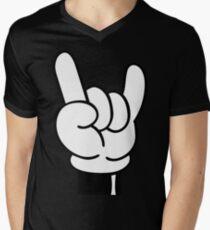 COOL FINGERS Men's V-Neck T-Shirt