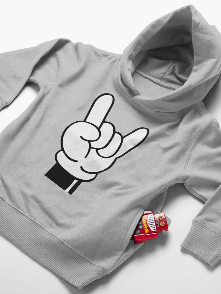Alternate view of COOL FINGERS Toddler Pullover Hoodie