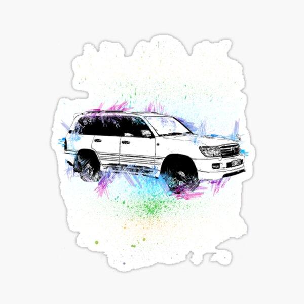 Toyota Toyota Land Cruiser Sticker