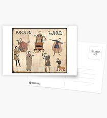 Frolic Hard Postcards