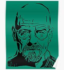 Breaking Bad - Heisenberg #00896-B Poster