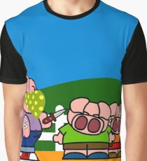Thug On The Farm Graphic T-Shirt