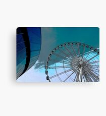 Circles in the sky! Canvas Print
