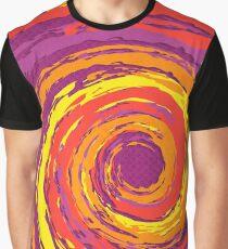 Hurricane Sunset Graphic T-Shirt