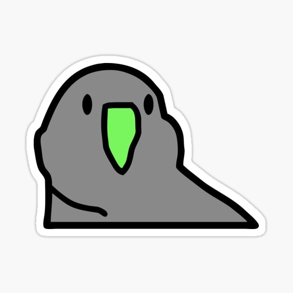Party Hard, Party Parrot Sticker