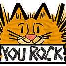 You Rock Kitty by elledeegee