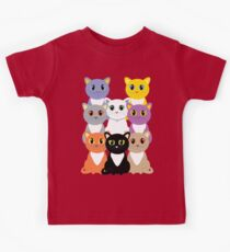 Only Eight Cats Kids Tee