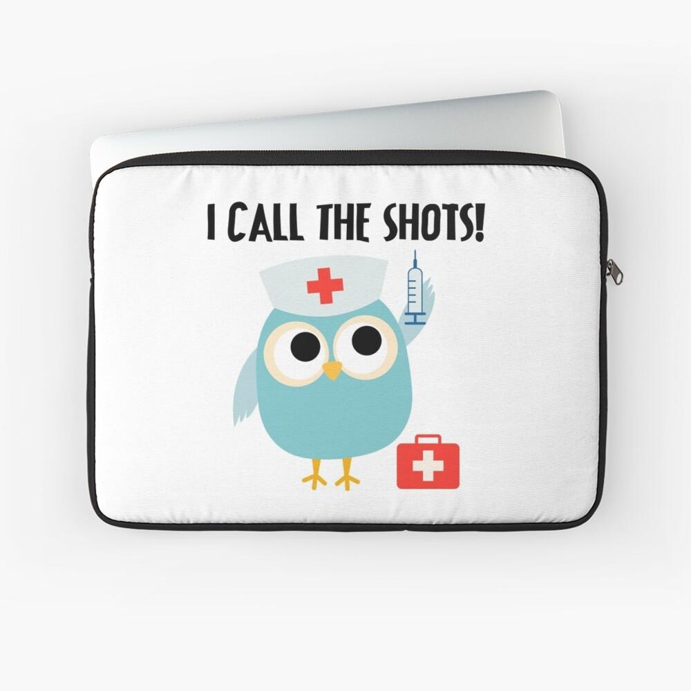 Berufe Eulen-Krankenschwester I nennen die Schüsse Laptoptasche