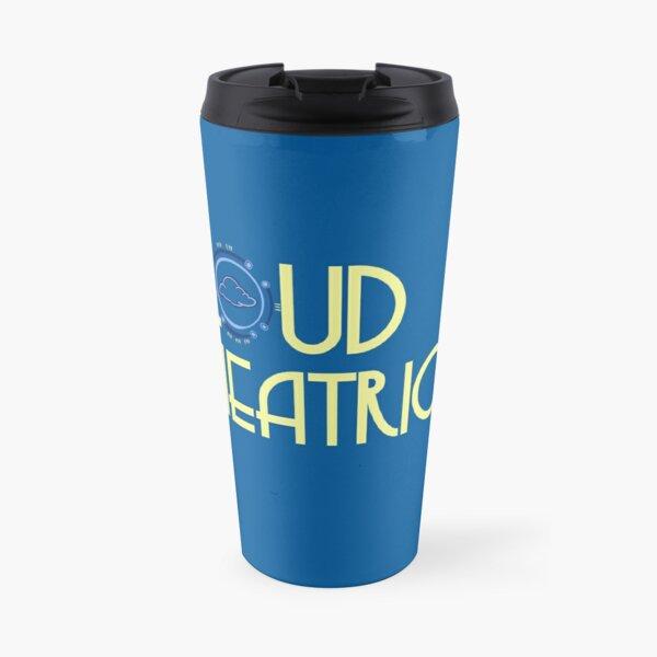 Cloud Theatrics Text Logo (Yellow) Travel Mug