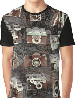 Vintage cameras Graphic T-Shirt
