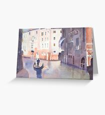 Venice by Nick Clark Greeting Card