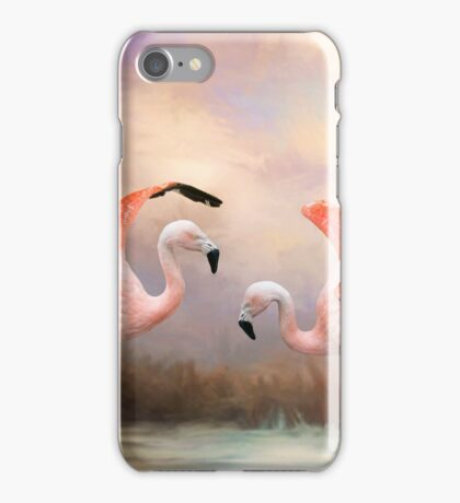 Dance of the Flamingos iPhone Case/Skin