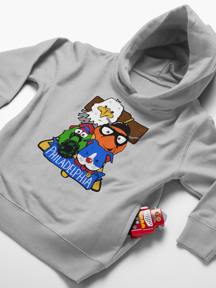 Alternate view of Philly Sporps! Toddler Pullover Hoodie