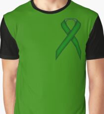 Emerald Green Standard Ribbon Graphic T-Shirt