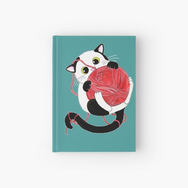 Die Katze und das Wollknäuel Notizbuch