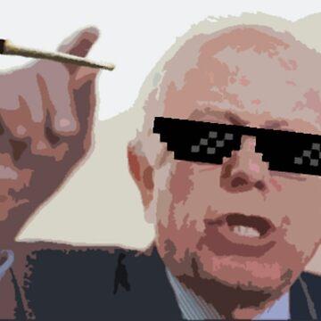 Bernie #Thuglife by razzmatazzy