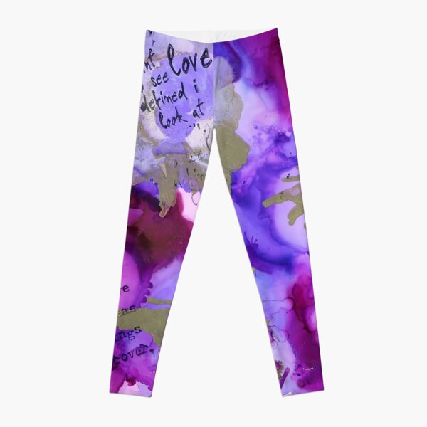 "Dare ""Perfect"" by Mélanie Poirier Leggings"