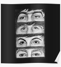 FAB FOUR EYES  Poster