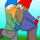 Gnomes In Love by Beth Alcala