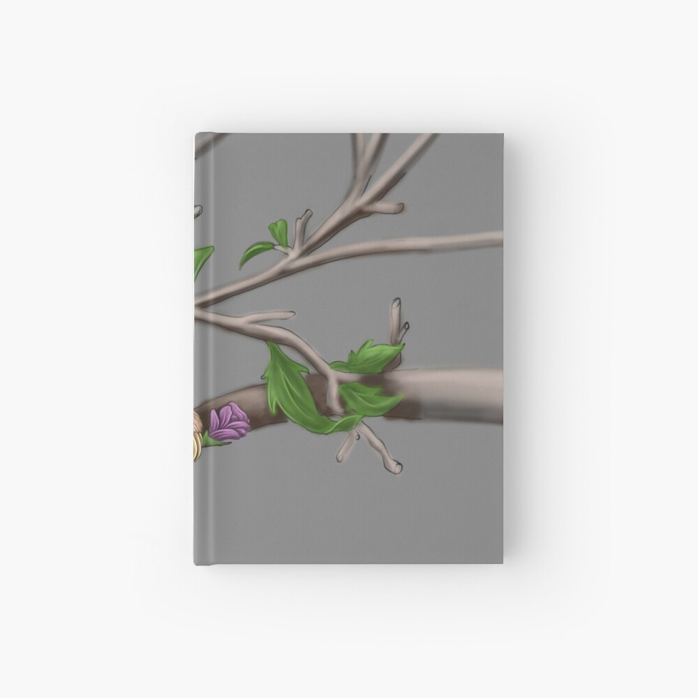 Just Chilin like a Sloth Hardcover Journal