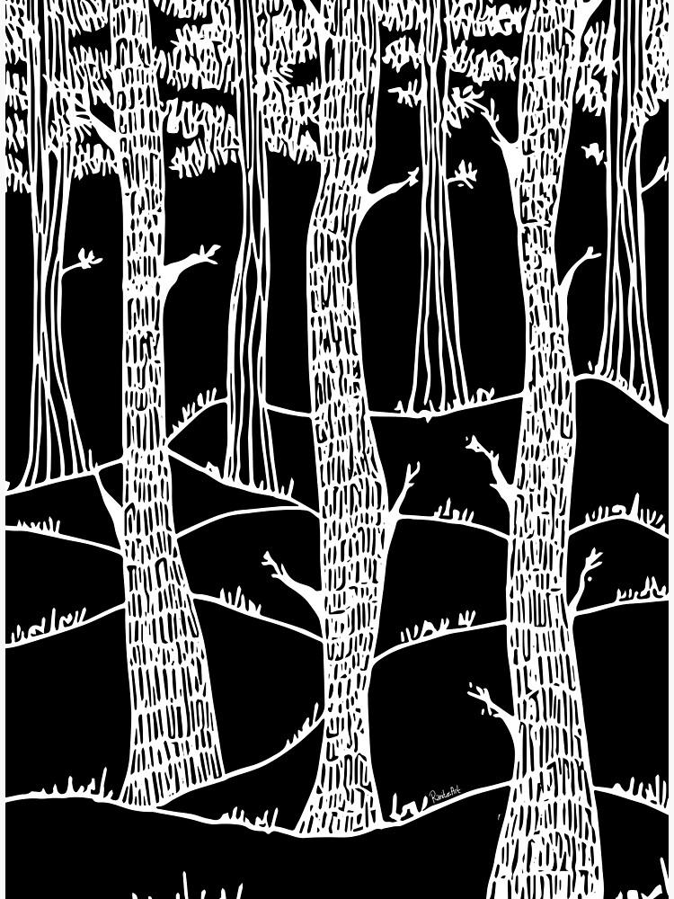 weisse wälder in winter von RanitasArt