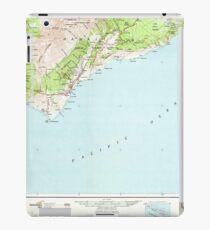 USGS TOPO Map Hawaii HI Hawaii South 349926 1962 250000 iPad Case/Skin