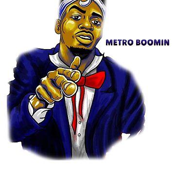 Graphic Metro Boomin by metroboomin