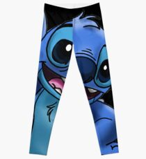 Experiment 626 (Stitch) Zoomed In Leggings