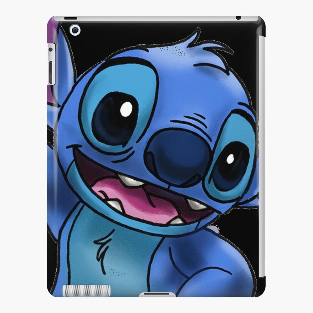 Experimento 626 (Stitch) Zoomed In Funda y vinilo para iPad