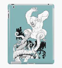 Gorilla/Tentacle Fight! iPad Case/Skin