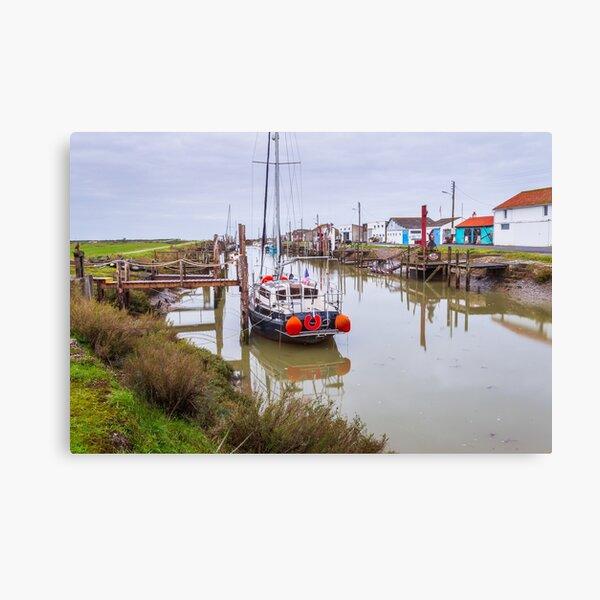 Port des Champs en Vendée Impression sur toile