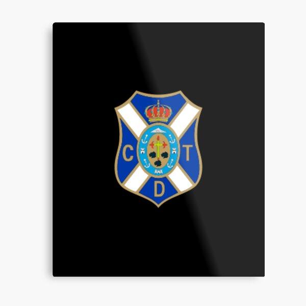 cd tenerife futbol flag coat of arms Metal Print
