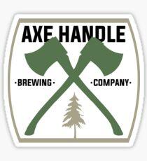 Axe Handle Beer Brewery Sticker