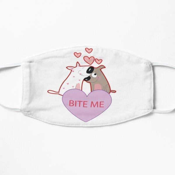 Happy valentines day Flat Mask