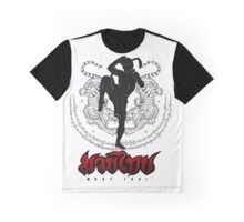 Muay Thay Boxing 3 - Thailand Martial Art  Graphic T-Shirt