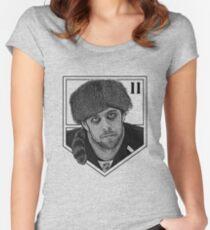 Coonskin Anze Kopitar Tee - LA Kings Women's Fitted Scoop T-Shirt