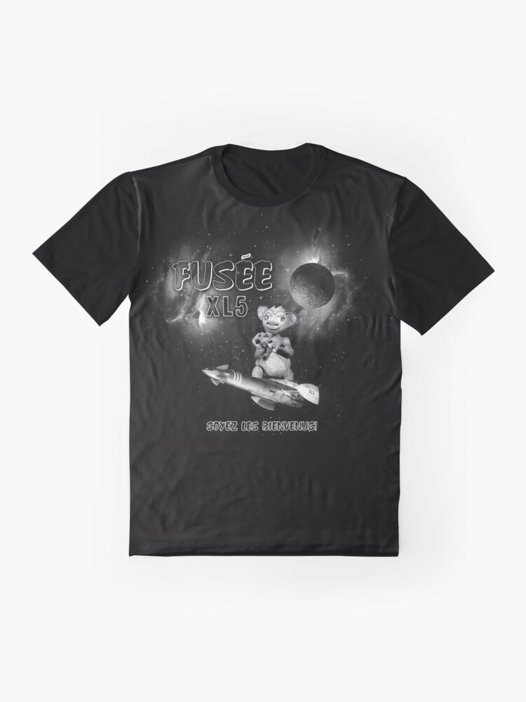Alternate view of ZAZOU SOYEZ LES BIENVENUS! Graphic T-Shirt