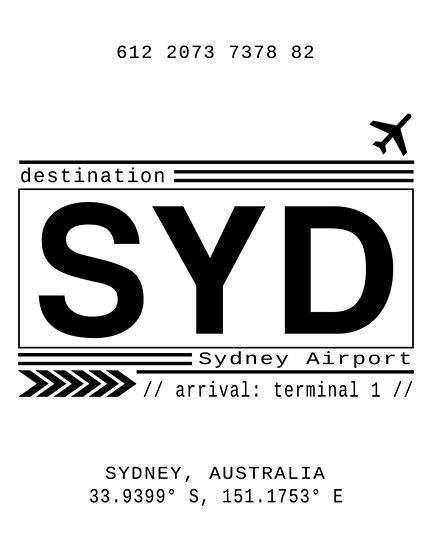 Sydney Flughafen von Leah Biernacki
