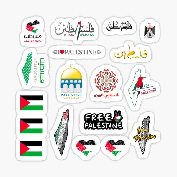 Pack d'autocollants Palestine Sticker