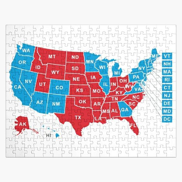 2020 US Election Results - Joe Biden Jigsaw Puzzle