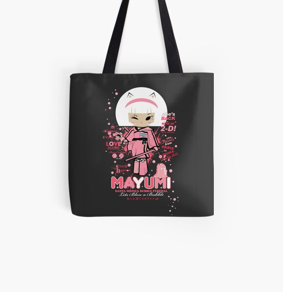 Let's Bubble All Over Print Tote Bag