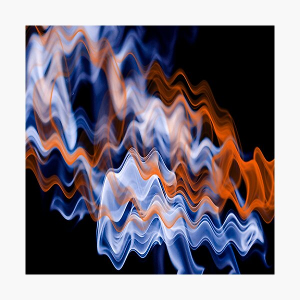 Wave Lengths Photographic Print