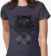 The Witcher - Big Witcher Medallion Womens Fitted T-Shirt