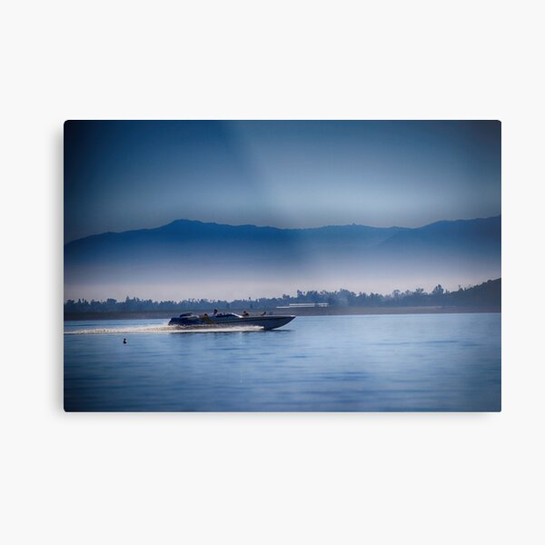 going fast....Lake Elsinore, SoCal Metal Print
