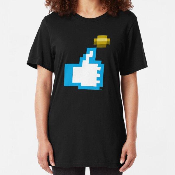 Flip a Bitcoin Slim Fit T-Shirt