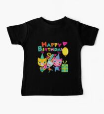 Cute Silly Animals Happy Birthday Kids Clothes