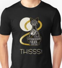 Hocus Pocus Cat Spell - Just. Like. This! T-Shirt