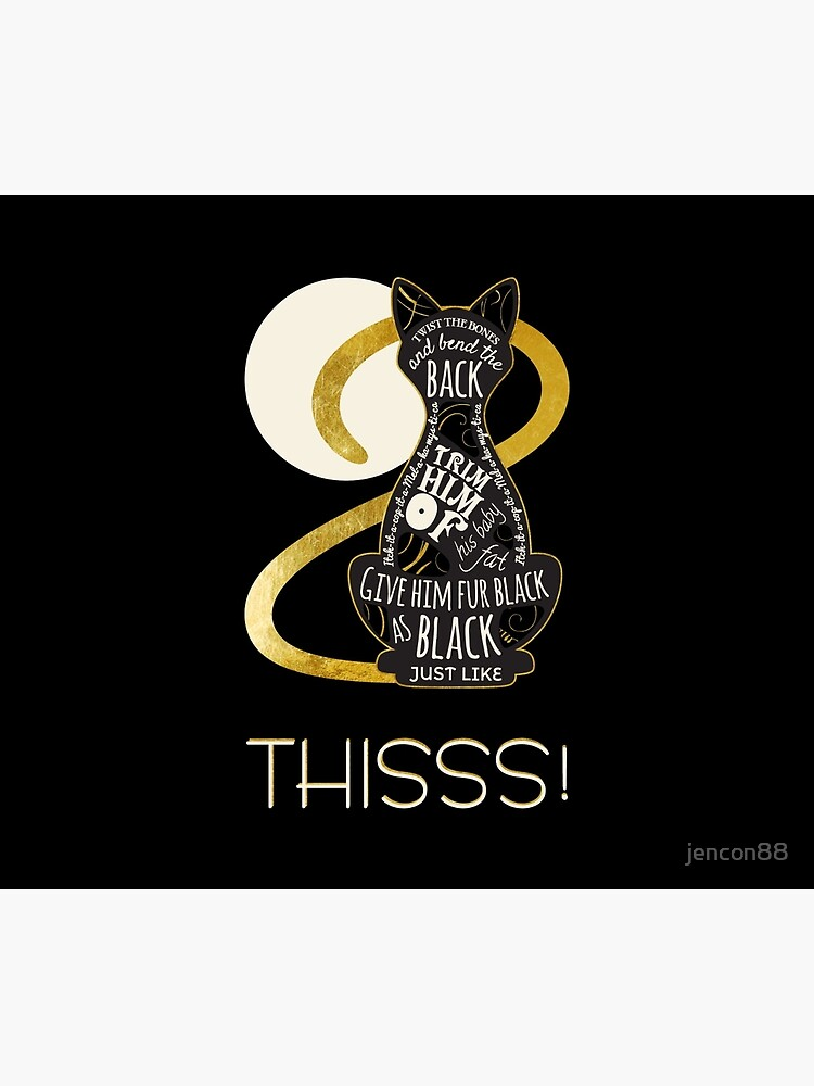 Hocus Pocus Cat Spell - Just. Like. This! by jencon88